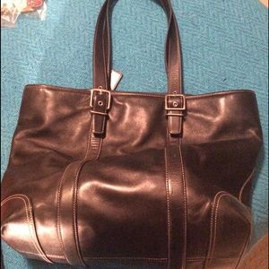 🔥Coach #6491 Vintage Tote preowned